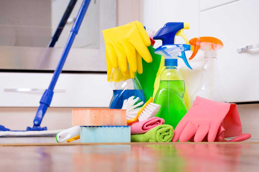 How clean do you have to leave a house when you move?